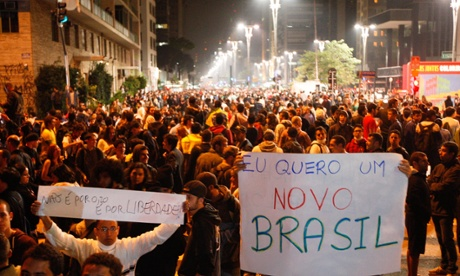 brazil protests SP