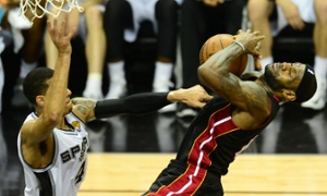 Game Six overtime: Spurs vs Heat - live!
