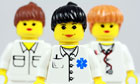 team of lego nurses