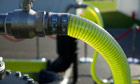 Machine producing biodiesel from algae
