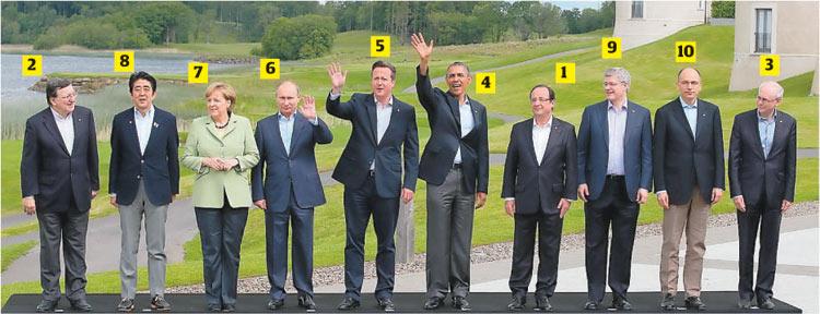 Leader Photos News g8 Leaders Group Photo