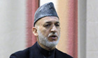 Hamid Karzai suspends talks on US-Afghanistan security pact