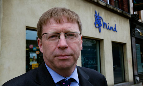 Paul Farmer, chief executive of mental health charity Mind