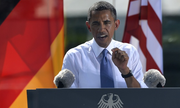 Obama in Berlin call for reduction of nuclear arsenals - live updates...