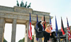 Barack Obama and Angela Merkel in Berlin