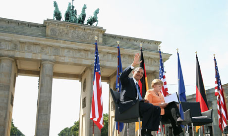Obama speech in Berlin looks to 'shared values' of iron curtain era...