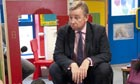 Education secretary Michael Gove at a free school 2011