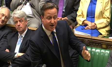 Syria crisis needs political solution, David Cameron tells MPs...