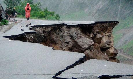 Indian landslides 2013