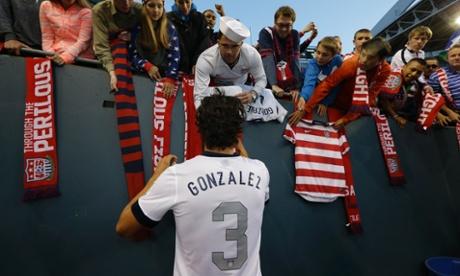 Omar Gonzalez USA fans USMN