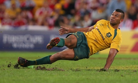 Agony for Kurtley Beale.