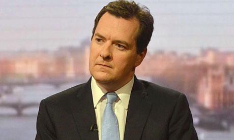George Osborne on The Andrew Marr Show on 23 June 2013