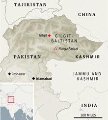 Pakistan locator