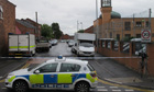 Bomb squad called to mosque