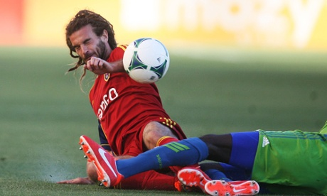 Kyle Beckerman Real Salt Lake Seattle Sounders