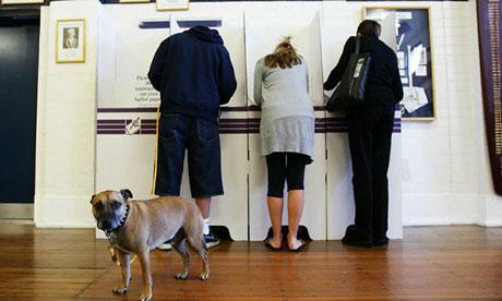 Voters in Sydney