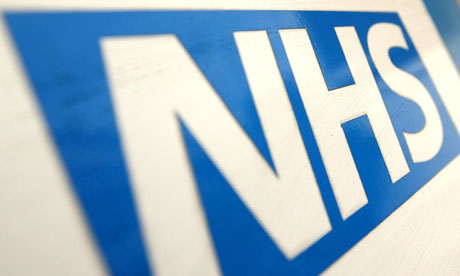 An NHS logo