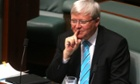 Kevin Rudd Rudd has said he will not mount a leadership challenge