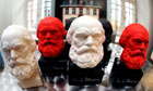 Germany - Karl Marx 125th obit - Busts of Karl Marx