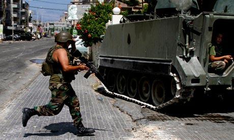 Lebanese soldier