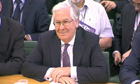 Mervyn King apperas at the Treasury Select Committee