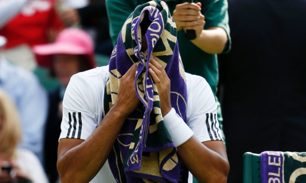 France's Jo-Wilfried Tsonga retires.