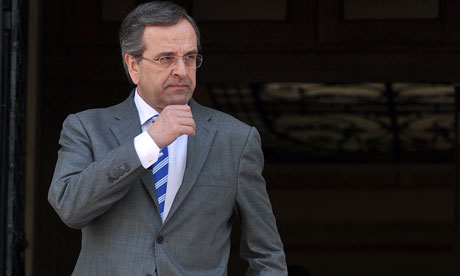 GREECE-IRELAND-DIPLOMACY-SAMARAS