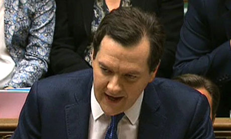 It's good for you … George Osborne.