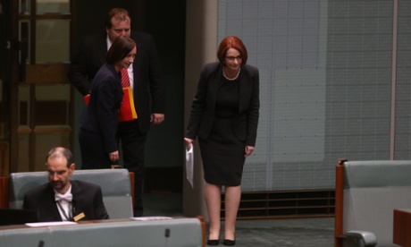 Good bye to politics. Julia Gillard. The Global Mail.