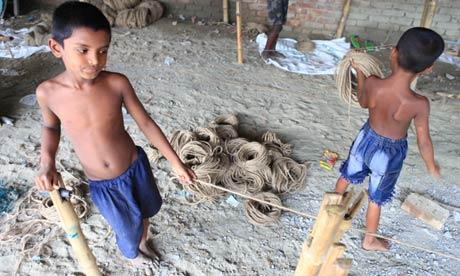 Child workers Bangladesh