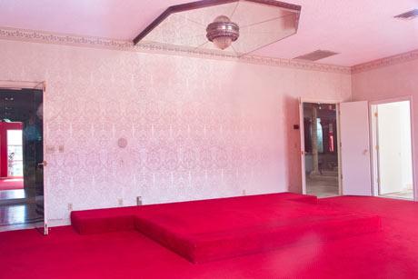 Liberace's former bedroom