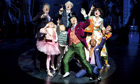 Douglas Hodge as Willy Wonka and the cast in Charlie and the Chocolate Factory