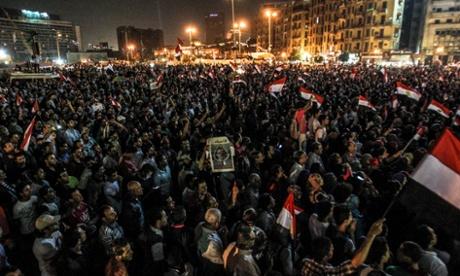 Egypt protest president Mohamed Morsi