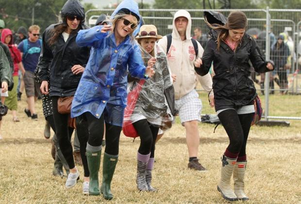 Still, a rain shower isn't going to spoil the fun.
