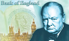 Churchill five pound note