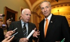 John McCain and Chuck Schumer on Wednesday