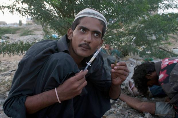drug use in Pakistan