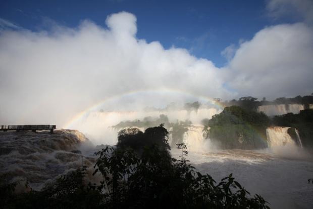 Iguazu Falls in Iguazu National Park, Brazil