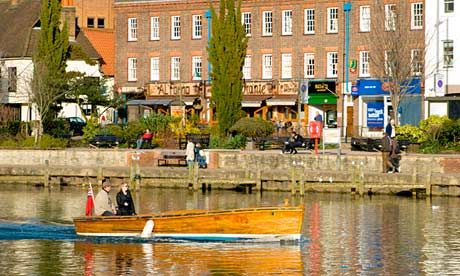 Kingston upon Thames, one of London's wealthiest satellite towns