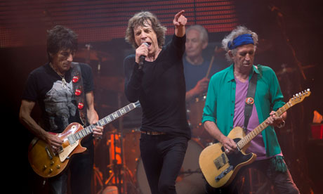 Rolling Stones make Glastonbury debut Michael Eavis's lifetime aim to see the band on the Pyramid stage is finally realised 43 years after festival first took place