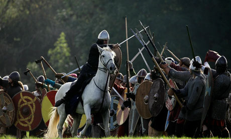 Annual battle of Hastings re-enactment