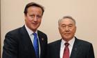 David Cameron Kazakhstan deal Nazarbayev