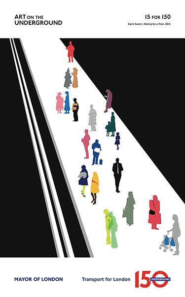 London Underground poster: Colin Sworn
