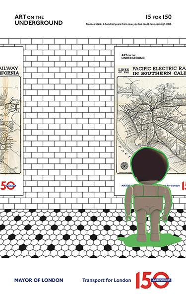 London Underground poster: Frances Stark