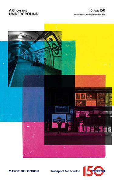 London Underground poster: Melissa Gordon