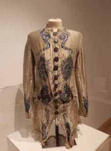 A dress with masonic symbolism by John Galliano