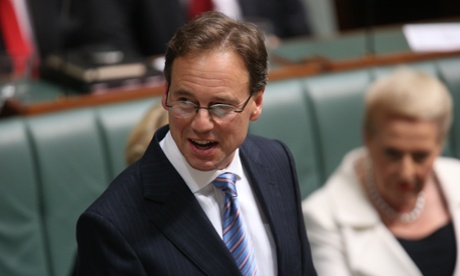 I will run faster. Shadow Environment Minister Greg Hunt. The Global Mail.