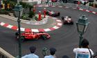 Formula 1 race track, Monaco