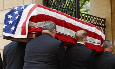 Senator Frank Lautenberg funeral