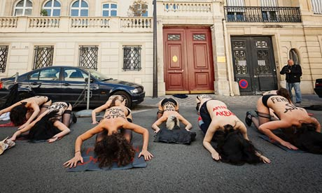 Femen protests: Tunisia expels three in Ukrainian feminist group